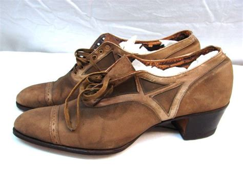 1920s oxford shoes 1920s vintage quot the college quot 2 tone leather lace up