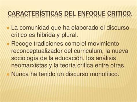 Modelo Curricular De Caracteristicas modelo de dise 241 o curricular de corte critico