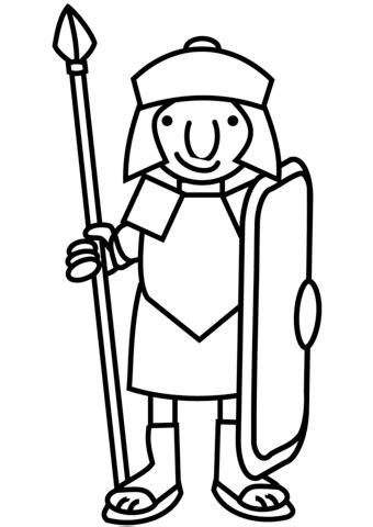 printable roman images cartoon roman soldier coloring page free printable