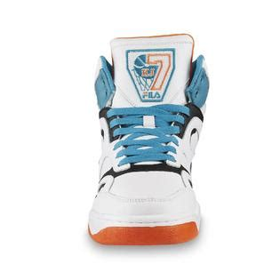 neon orange basketball shoes fila s kj7 white black neon orange teal basketball shoe