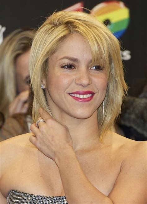 Shakira Hairstyle by Image Gallery Shakira Haircut