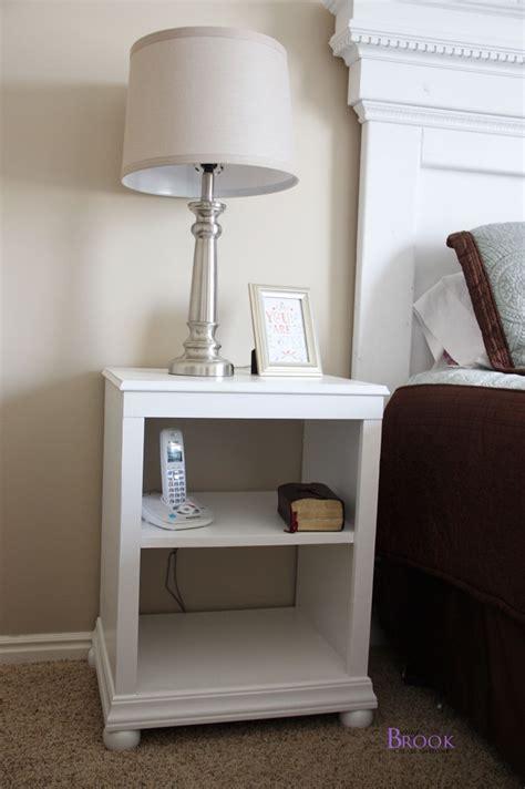katie nightstand  shelves building ana white