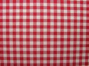 Pink Gingham Curtains French Red Woven Gingham Check Cotton Designer Fabric