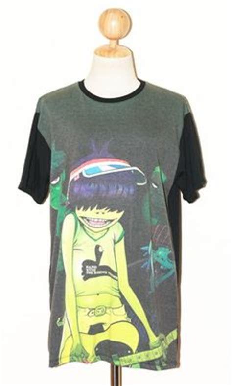 house band merch gorillaz shirt tank tops white size s m l