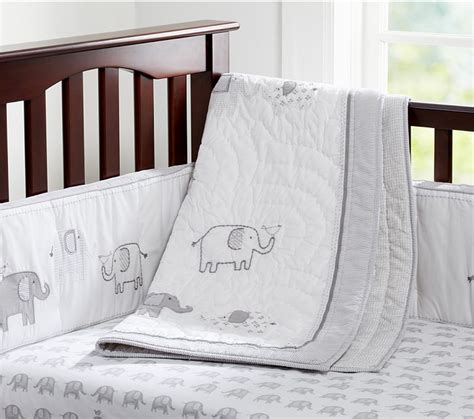 Gray Elephant Crib Bedding Gender Neutral Crib Bedding Ideas Reader Q A Cool Picks