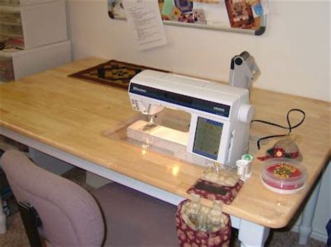 how to a drop in sewing table drop in sewing machine table sewing