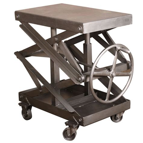 scissor lift work table scissor lift table the awesomer