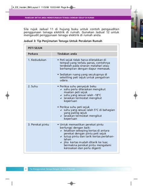 layout buku panduan buku panduan cekap tenaga