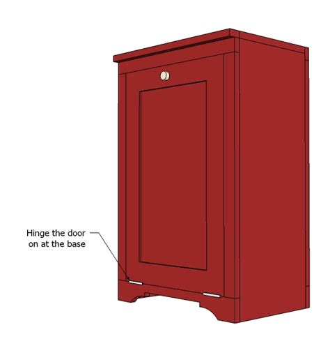 tilt out her cabinet plans wood work trash cabinet plans pdf plans