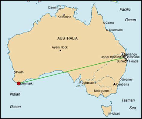 denmark map australia