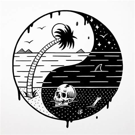 volcom tattoo designs yinyang web jpg pattern photo illustration