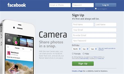 Fb Home by Home Page