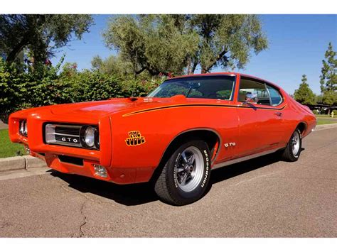 1969 pontiac gto the judge for sale classiccars com cc 1047468