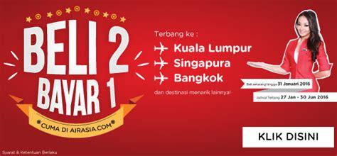 airasia depok airasia luncurkan promo quot beli 2 bayar 1 quot untuk penerbangan