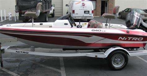 nitro bass boat value nitro 640 lx bass boat 2005 apex marine