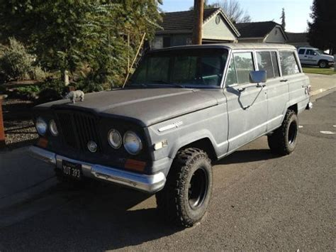 1969 jeep wagoneer 1969 jeep grand wagoneer for sale in salida california