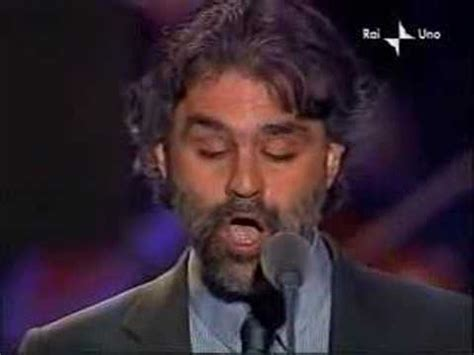 Andrea Bocelli Is He Blind Blind Singer The Famos Andrea Bocelli Youtube