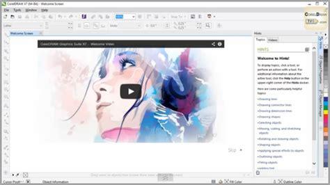 video tutorial corel draw x7 first 9 minutes look at coreldraw x7 alex galvez s blog