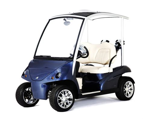 Auto Golf Cart by Garia Lsv The Street Legal Luxury Golf Cart Autoevolution