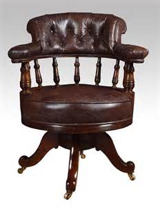 antique office furniture mahogany framed captains office chair antiques atlas
