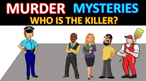 who is the killer 2 mystery riddles with answers who is the