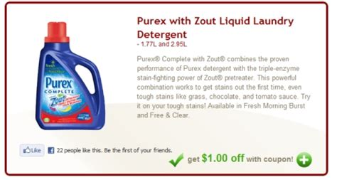 printable laundry detergent coupons canada canadian daily deals safeway canada save 1 off purex