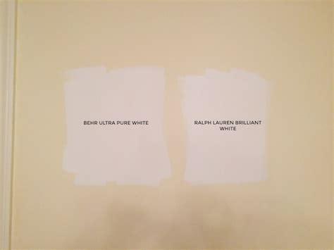 schultz choosing white paint