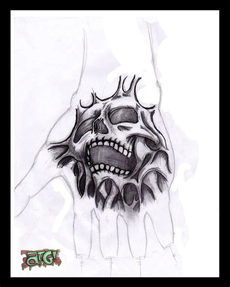 tattoo on hand drawing my hand tattoo design by a t g 4 on deviantart