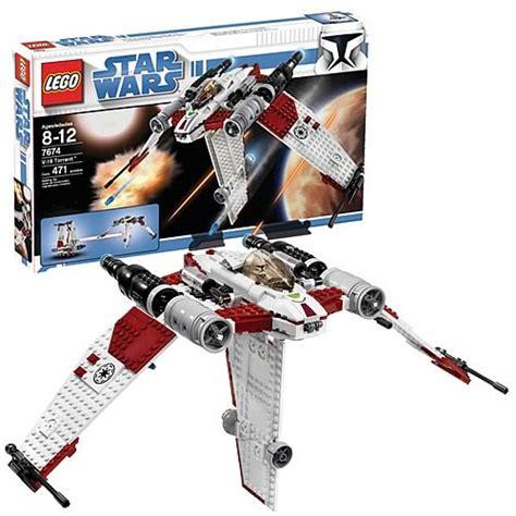 Lego 7674 V 19 Torrent Wars Clone Starwars Original Luke Vader lego 7674 wars v 19 torrent starfighter lego wars construction toys at