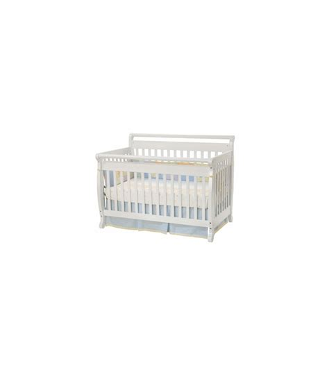 Davinci Emily Mini Crib White Davinci Emily 4 In 1 Convertible Crib In White