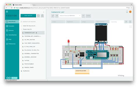 online web layout generator share your sketches on the arduino web editor