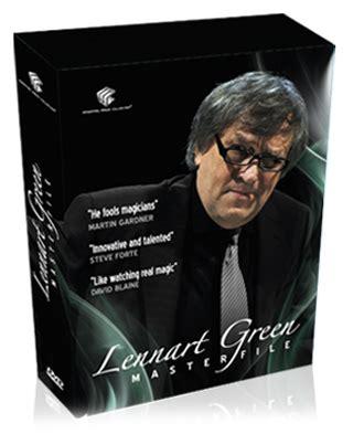 Lennart Green Master File 4 Dvd Set Dvd Magic Tutorial Sulap lennart green masterfile 4 dvd set 150 00 lennart