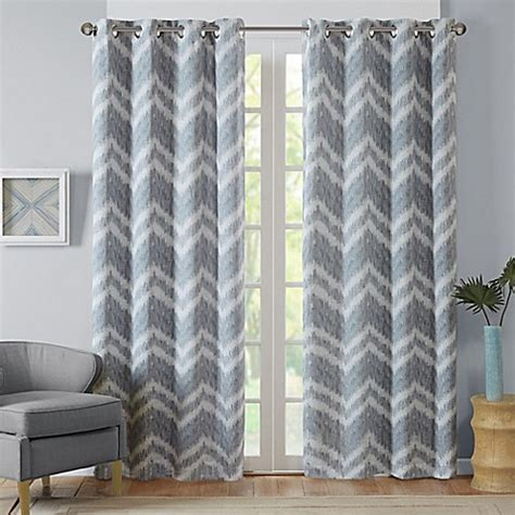 grey pattern grommet curtains buy intelligent design seto 63 inch room darkening grommet