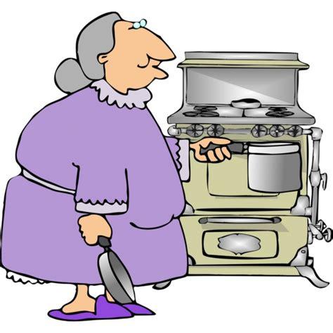 disegno cucina disegno di nonna in cucina a colori per bambini