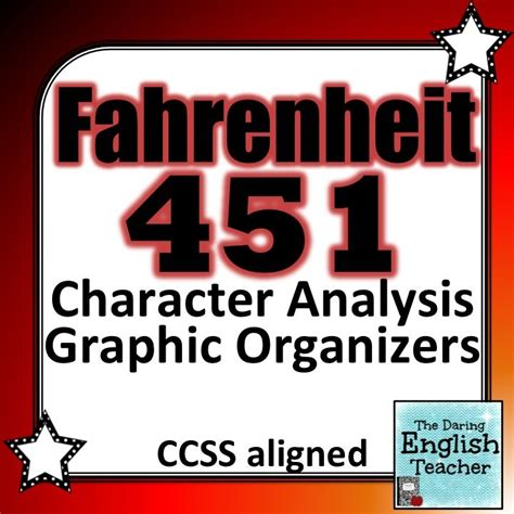 fahrenheit 451 graphic novel fahrenheit 451 character analysis graphic organizers the