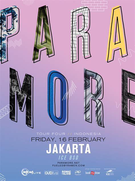 bookmyshow paramore paramore are returning to jakarta after seven years