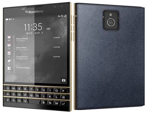 Blackberry Passport Black limited edition black and gold blackberry passport launched
