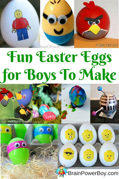 easter for boys easter eggs for boys to make they are going to want to