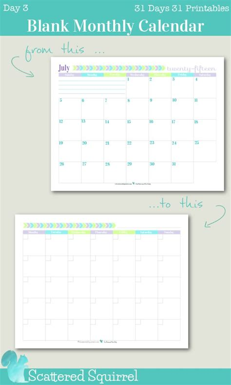 blank one month calendar template best 20 blank monthly calendar ideas on blank