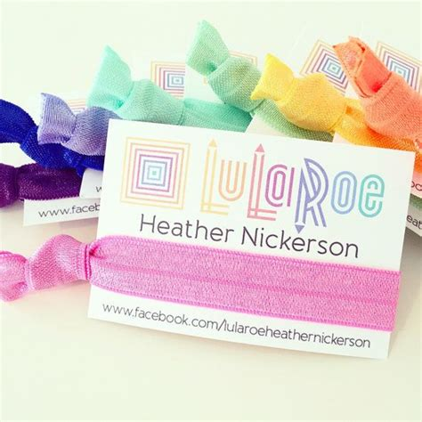 Lularoe Gift Card - custom lularoe hair tie business cards custom by lovemiaco lularoe marketing