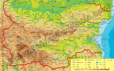 map of bulgaria bulgaria map collection best maps of bulgaria maps of sofia varna golden sands