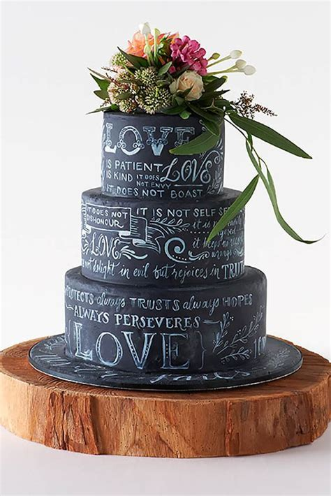 who makes wedding cakes the new in wedding cakes edible chalkboard cake