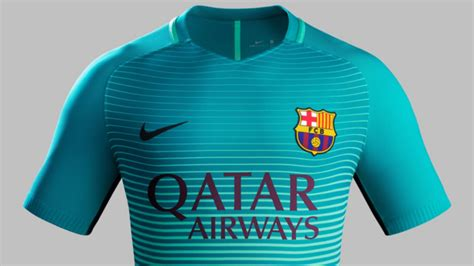 Barcelona Glow In The barcelona to wear unique glow in the third kit for
