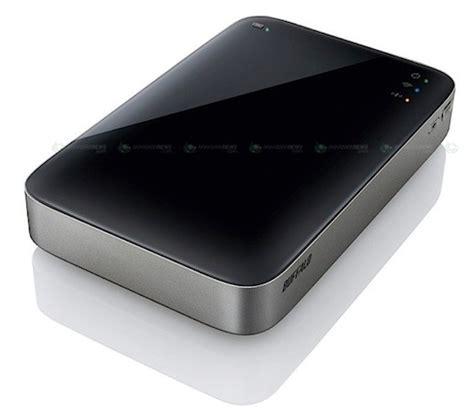 Pasaran Hardisk External 500gb buffalo hdw p550u3 external storage yang dilengkapi wifi