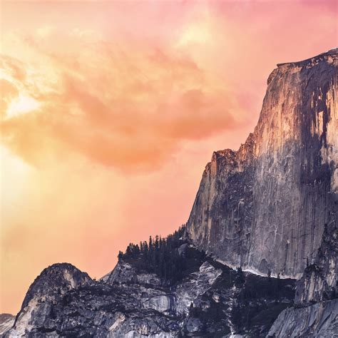ae yosemite red sunset mac wallpaper os  wallpaper