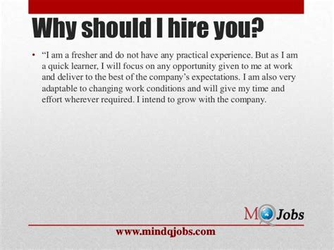 What Of Should I Be by Mindqjobs Fresher Hr Questions