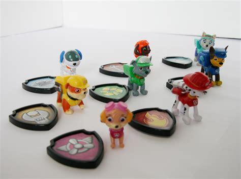Mainan Figure Pas Patrol Set sell toys paw patrol 1 set 8pc minifigure from indonesia by toko blanja grosir cheap price