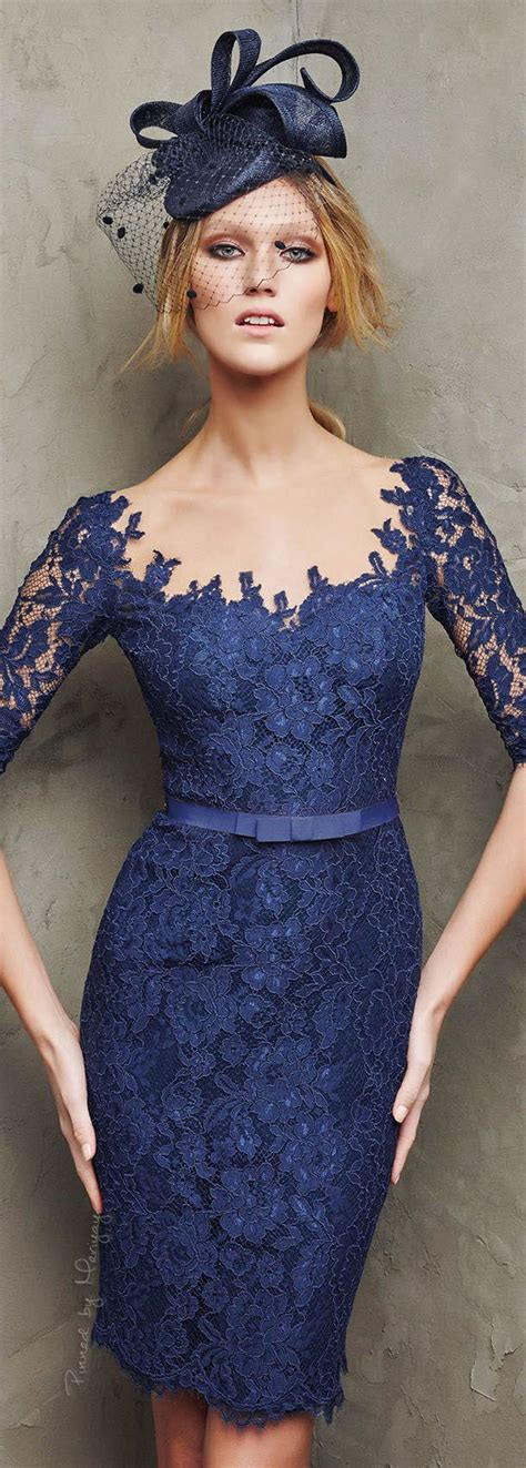 Dress Brukat Navy A pronovias 2016 ropa y accesorios gowns brokat and clothes