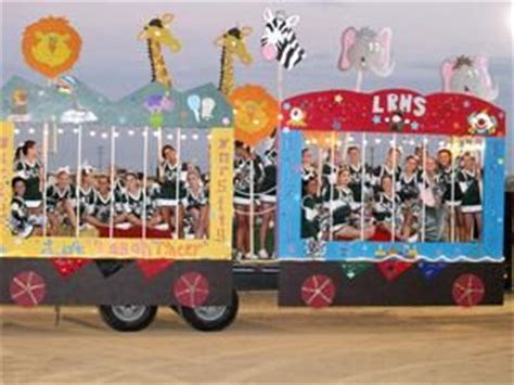 carnival parade themes circus theme parade float ideas are put in giant
