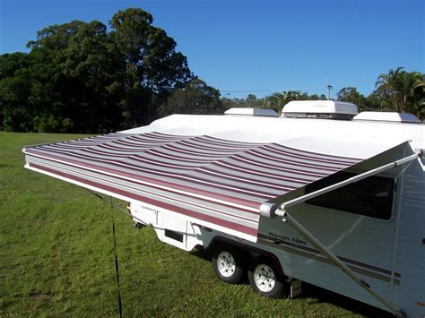 caravan awning material summer is almost over it s time to check the caravan